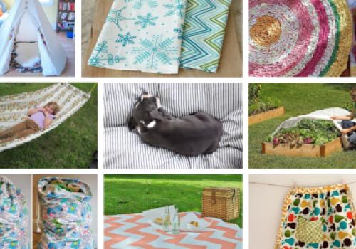 10 idei de refolosire a lenjeriilor de pat uzate