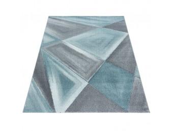 Covor Dreptunghiular Modern & Geometric Nami Albastru - C04-205005