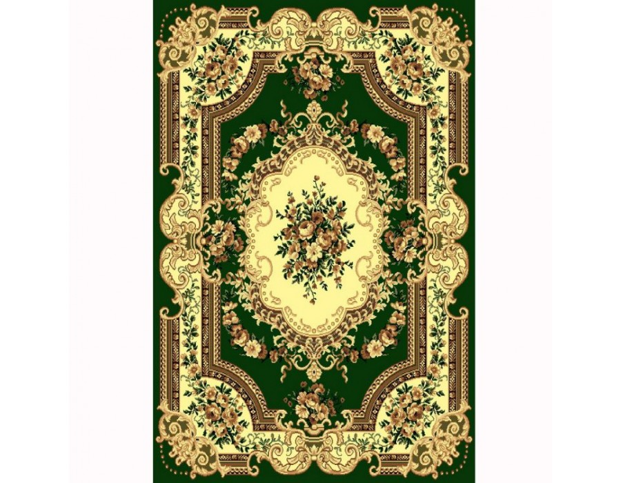 Covor Dreptunghiular Clasic Oriental - Gold Verde - 047/32