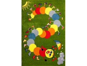 Covor Kolibri Copii Verde Dreptunghi – 11057/130