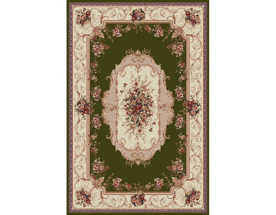 Covor Lotus Verde Dreptunghi - 507/301