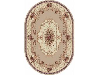 Covor Lotus Crem Oval – 507/100