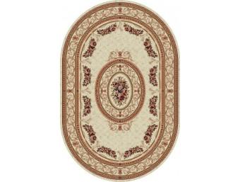 Covor Lotus Crem Oval – 567/100