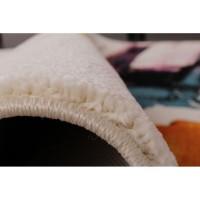 Covor E7 Crem-Multicolor Dreptunghi Polipropilena, Grosime 13 mm