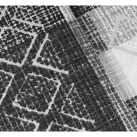 Lenjerie de pat dublu din Bumbac 100% Poplin Debora Black