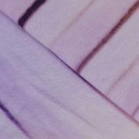 Lenjerie de pat dublu din Bumbac 100% Poplin Kirik Lilac vopsita manual