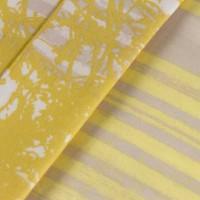 Lenjerie de pat dublu din Bumbac 100% Satinat Elsa Yellow