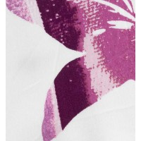 Lenjerie de pat dublu din Bumbac 100% Satinat Lucia Fuchsia