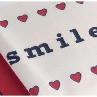 Lenjerie de pat o Persoana Bumbac 100% Poplin Smile Red