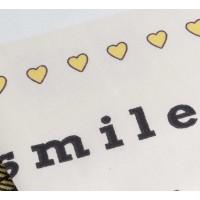 Lenjerie de pat o Persoana Bumbac 100% Poplin Smile Yellow