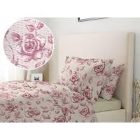Lenjerie de pat dublu din Bumbac 100% Creponat Embroidery – XXL