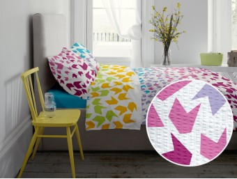 Lenjerie de pat dublu din Bumbac 100% Creponat Loving Matisse V1 – XXL