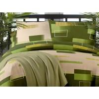Lenjerie de pat dublu din Bumbac 100% Creponat Minimal 02
