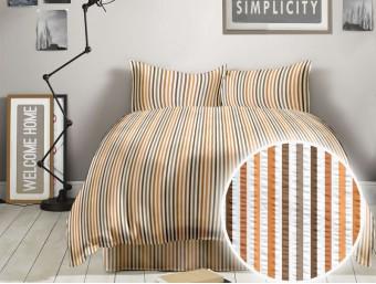 Lenjerie de pat dublu din Bumbac 100% Creponat Simplicity V3 – XXL
