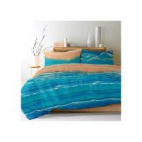 Lenjerie de pat dublu din Bumbac 100% Creponat Sunrise