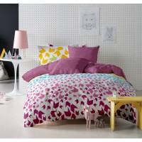 Lenjerie de pat dublu din Bumbac 100% Ranforce Loving Matisse V1 – Fata Reversibila
