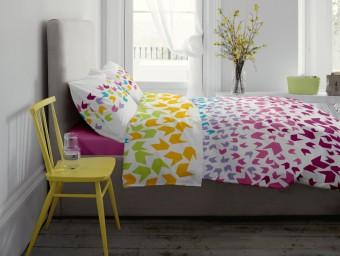 Lenjerie de pat dublu din Bumbac 100% Ranforce Loving Matisse V1 - XXL
