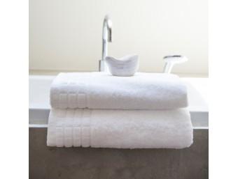 Prosop de baie bumbac 100% Mozaic Alb 30x50 cm