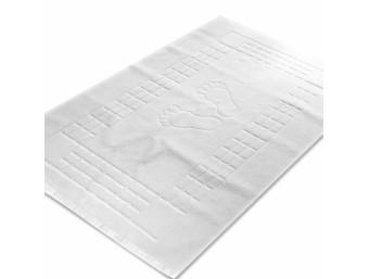 Prosop bumbac 100% pentru picioare  Mozaic Alb