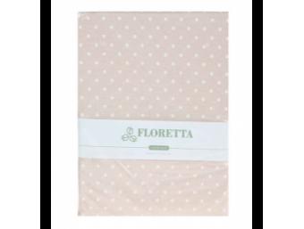 Set fete de perna Floretta Bej Buline 50x70 cm