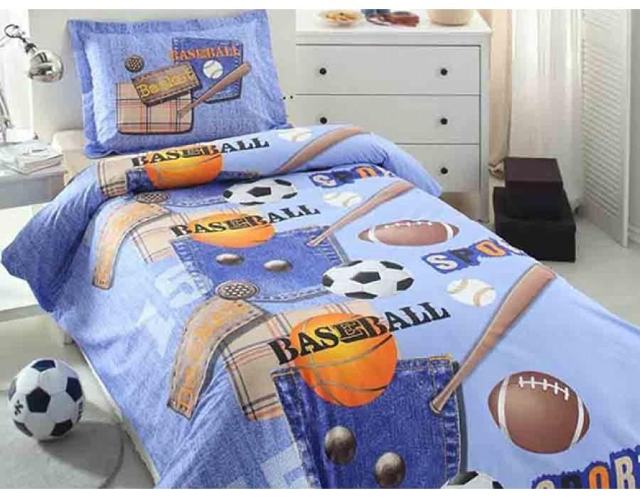 Lenjerie de pat copii Bumbac 100% Active