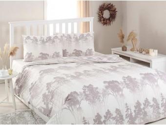 Lenjerie de pat dublu din Bumbac 100% Modaletto Hermosa