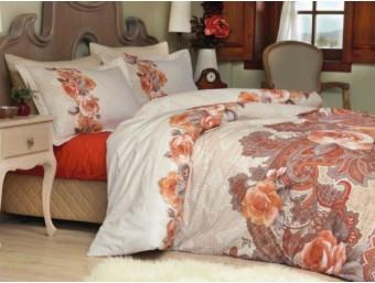 Lenjerie de pat dublu din Bumbac 100% Satinat Dorma